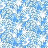 Teste padrão floral tropical Fotografia de Stock