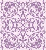 Teste padrão floral - vetor Fotografia de Stock