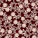 Teste padrão floral, vetor Fotografia de Stock Royalty Free