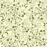 Teste padrão floral, vetor Fotografia de Stock