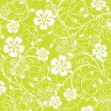 Teste padrão floral, vetor Foto de Stock Royalty Free