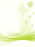 Teste padrão, flores & borboleta Fotografia de Stock Royalty Free