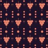 Teste padrão flowers Fotografia de Stock Royalty Free