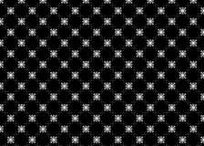 Teste padrão formas cubos Sumário B&W deco Arte ilustração stock