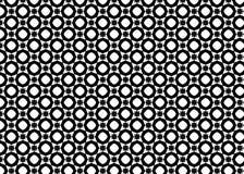 Teste padrão formas Sumário projeto B&W deco Arte ilustração stock