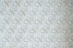 Teste padrão, fundo e textura decorativos tailandeses Fotografia de Stock