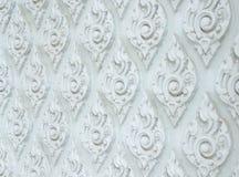 Teste padrão, fundo e textura decorativos tailandeses Imagens de Stock
