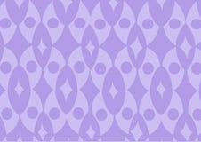 Teste padrão funky roxo do papel de parede Fotografia de Stock
