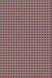 Teste padrão - furos vermelhos Imagem de Stock Royalty Free