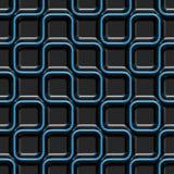Teste padrão futurista sem emenda da HI-tecnologia ilustração do vetor