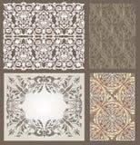 Teste padrão gótico Foto de Stock