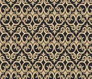 Teste padrão gótico do ornamento do estilo Ilustração do Vetor