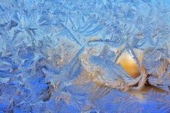 Teste padrão gelado Imagens de Stock Royalty Free