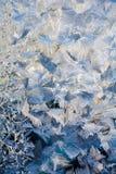 Teste padrão gelado Fotografia de Stock