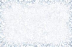 Teste padrão gelado no indicador do inverno Foto de Stock Royalty Free