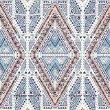 Teste padrão geométrico étnico Imagem de Stock