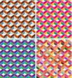 Teste padrão geométrico Imagens de Stock Royalty Free