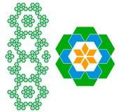 Teste padrão geométrico Imagem de Stock Royalty Free