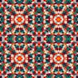 Teste padrão geométrico Ilustração Royalty Free