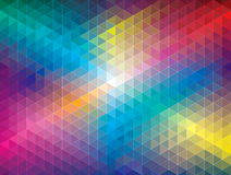 Teste padrão geométrico Foto de Stock Royalty Free
