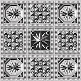 Teste padrão geométrico 24 Foto de Stock Royalty Free
