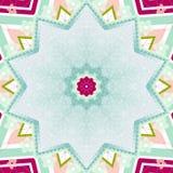Teste padrão geométrico abstrato Imagens de Stock