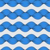 Teste padrão geométrico abstrato Fotografia de Stock Royalty Free