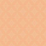 Teste padrão geométrico abstrato alaranjado do creme claro Fotos de Stock Royalty Free