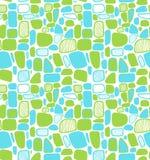 Teste padrão geométrico abstrato brilhante. Telhas decorativas ilustração stock