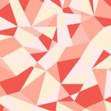 Teste padrão geométrico abstrato colorido Fundo poligonal colorido Fotografia de Stock