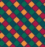Teste padrão geométrico abstrato do rombo Imagem de Stock Royalty Free