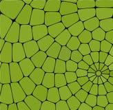 Teste padrão geométrico abstrato Fundo bonito do mosaico Projeto colorido Ornamento decorativo do caleidoscópio Ideal para bandei ilustração do vetor