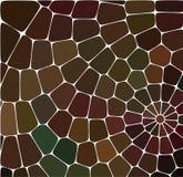Teste padrão geométrico abstrato Fundo bonito do mosaico Projeto colorido Ornamento decorativo do caleidoscópio Ideal para bandei ilustração stock