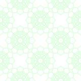 Teste padrão geométrico abstrato Fundo sem emenda verde e branco da luz - Fotos de Stock