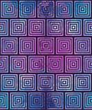 Teste padrão geométrico abstrato Ilusão ótica Fotos de Stock