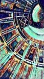 Teste padrão geométrico abstrato - imagem de fundo fotos de stock royalty free