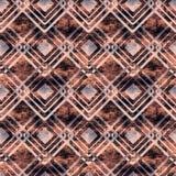 Teste padrão geométrico abstrato sem emenda Fotografia de Stock Royalty Free