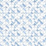 Teste padrão geométrico abstrato sem emenda Foto de Stock Royalty Free