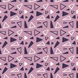 Teste padrão geométrico abstrato sem emenda Imagens de Stock Royalty Free