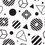 Teste padrão geométrico abstrato sem emenda Imagens de Stock