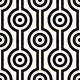 Teste padrão geométrico abstrato sem emenda da malha ilustração royalty free