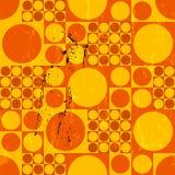 Teste padrão geométrico abstrato sem emenda do fundo do pop art, estilo retro/do vintage anos sessenta, ilustração royalty free