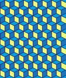 Teste padrão geométrico abstrato sem emenda do vetor ilustração royalty free