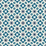 Teste padrão geométrico asiático do vetor Fotos de Stock Royalty Free