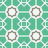 Teste padrão geométrico asiático do vetor Imagens de Stock Royalty Free