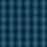 Teste padrão geométrico azul Foto de Stock