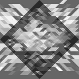 Teste padrão geométrico cinzento Para a bandeira, cartaz, cartão, design web Fotografia de Stock Royalty Free