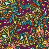Teste padrão geométrico colorido Foto de Stock