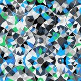 Teste padrão geométrico colorido Imagens de Stock Royalty Free