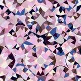 Teste padrão geométrico colorido Fotografia de Stock